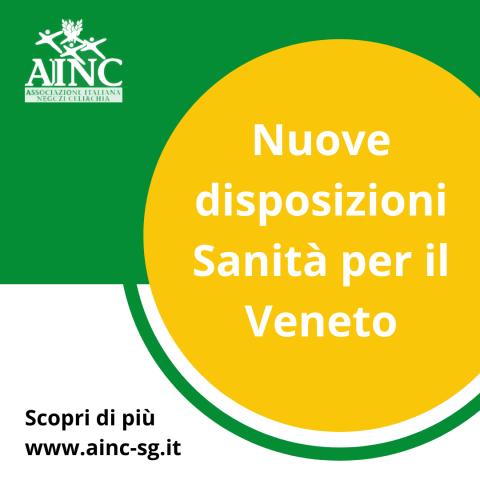 Nuove Disposizioni Sanità Regione Veneto