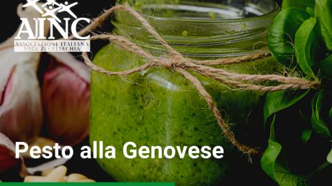 Le ricette di AINC: Pesto alla Genovese